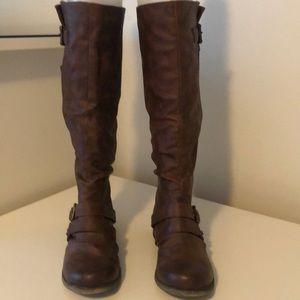 """Carlos Santana  """"Hart""""  Cognac Boots"""